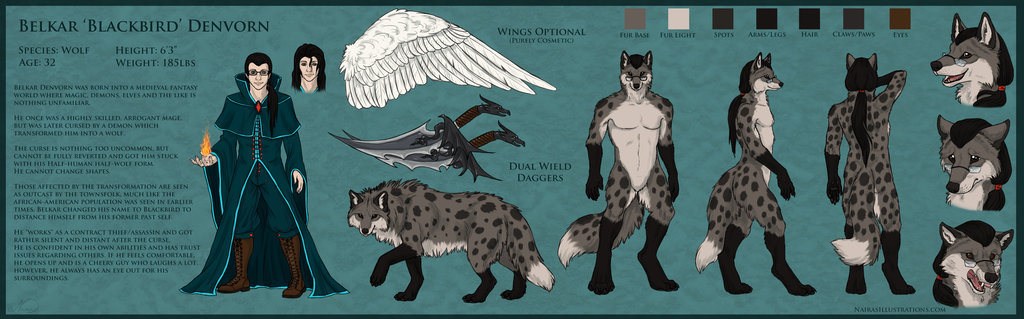 Blackbird Ref Sheet
