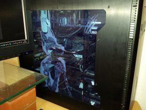 Shockwave v3 Fenster Seitenansicht