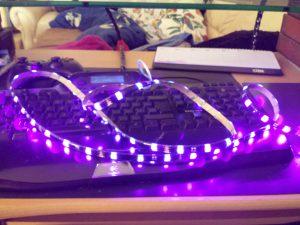 Shockwave v3 UV LED stripe