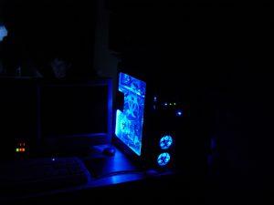 Arctic Blue v1 illuminated