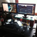 Shockwave v2 Schreibtisch
